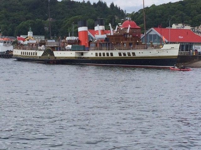 The Waverley in Oban