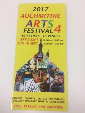 Auchmithie Arts Festival 2017
