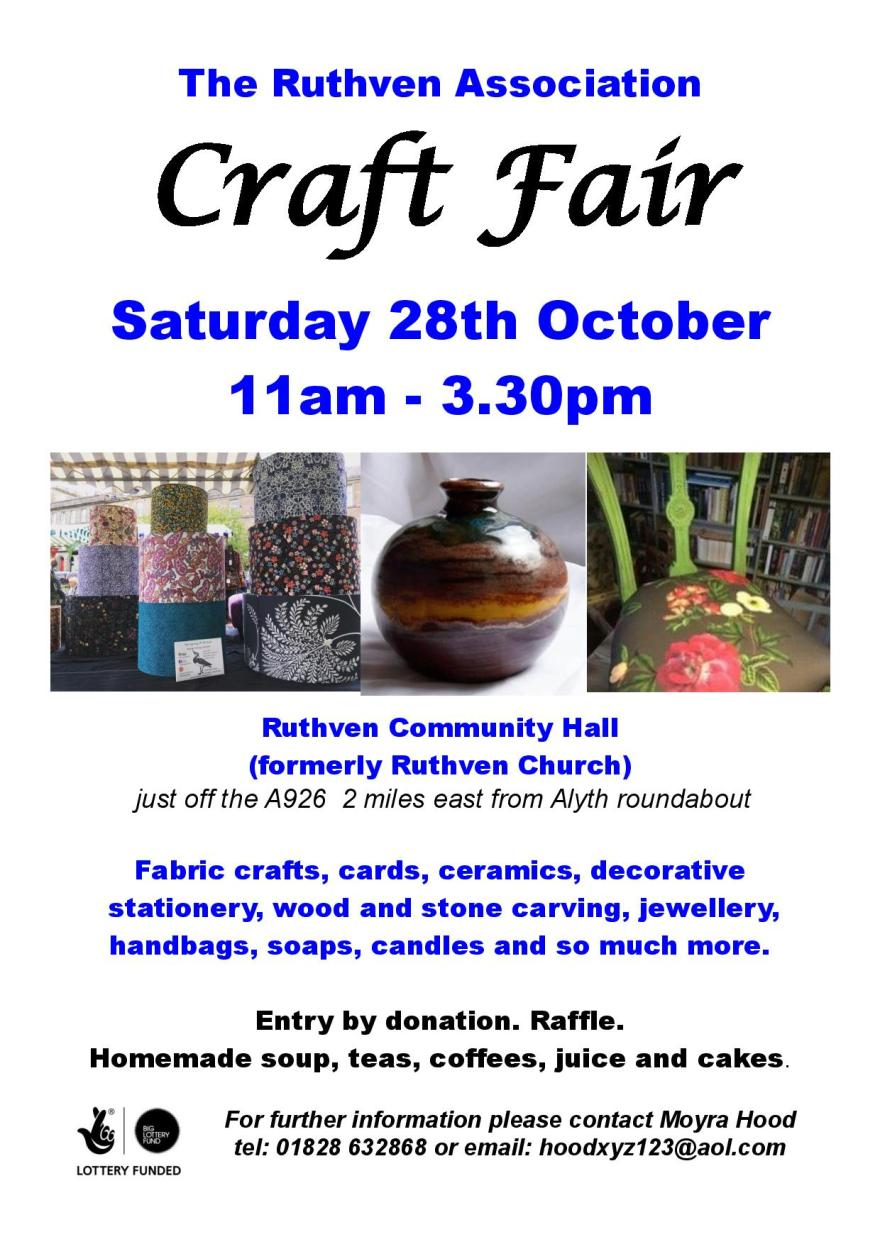 Ruthven Association Craft Fair